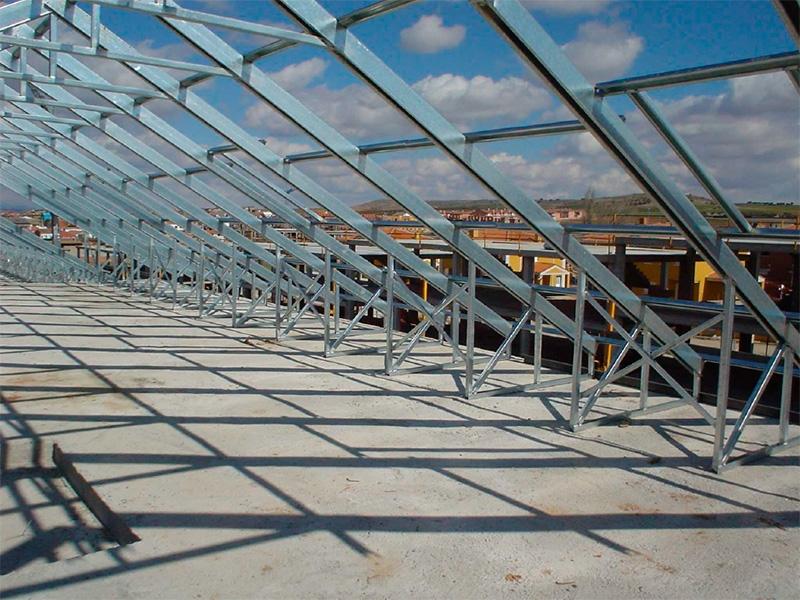 Imagen 3 3 estructuras ligeras - Cubiertas metalicas ligeras ...